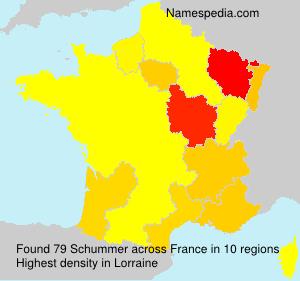 Familiennamen Schummer - France