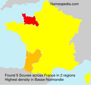 Surname Scuvee in France