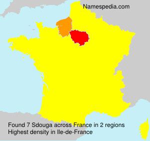 Surname Sdouga in France