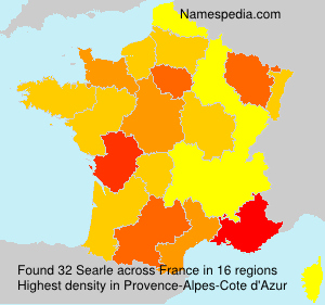 Surname Searle in France