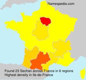 Sechan - France