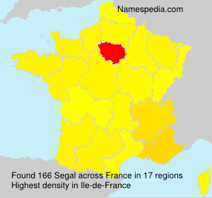 Surname Segal in France