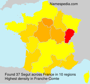 Surname Segut in France