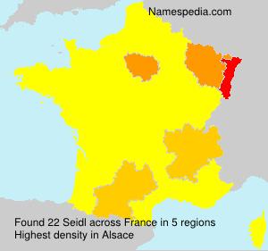 Surname Seidl in France