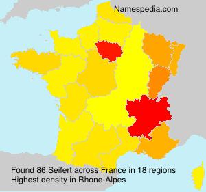 Surname Seifert in France