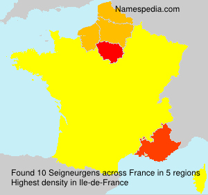 Surname Seigneurgens in France