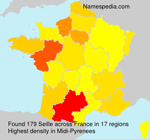 Surname Seille in France