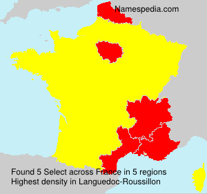 Surname Select in France