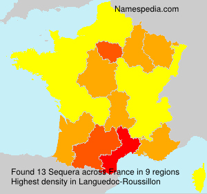 Surname Sequera in France