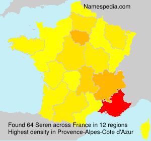 Familiennamen Seren - France