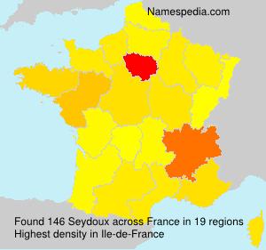 Familiennamen Seydoux - France
