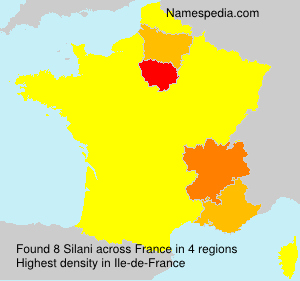 Surname Silani in France