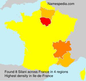 Surname Silani in France