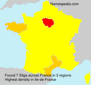 Surname Silga in France