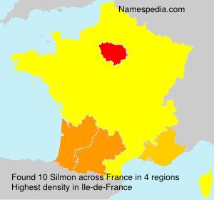 Surname Silmon in France