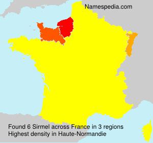 Surname Sirmel in France