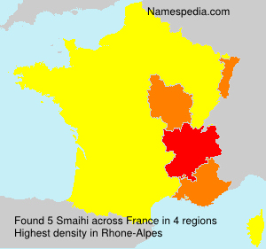 Surname Smaihi in France