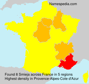 Surname Smieja in France