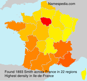 Surname Smith in France
