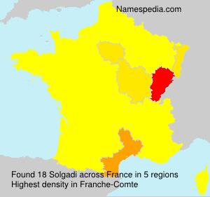 Surname Solgadi in France