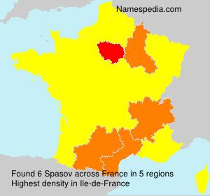 Surname Spasov in France