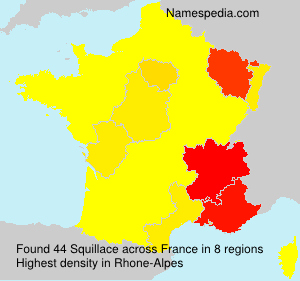Surname Squillace in France