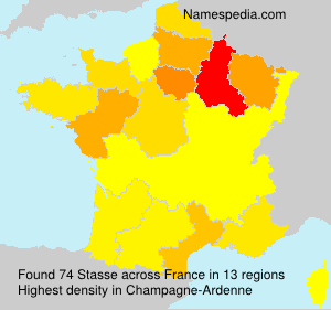 Surname Stasse in France