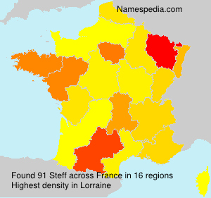 Surname Steff in France