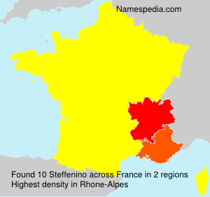Surname Steffenino in France