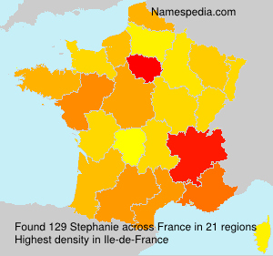 Surname Stephanie in France