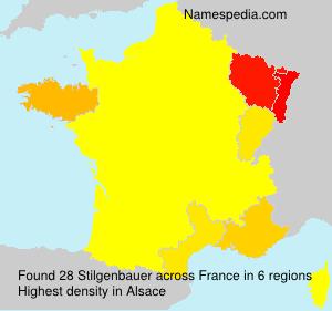 Surname Stilgenbauer in France