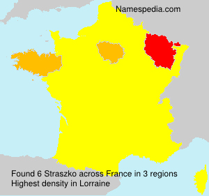 Surname Straszko in France