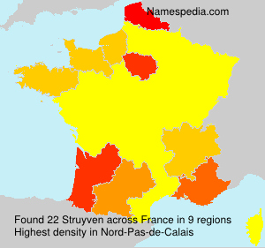 Surname Struyven in France