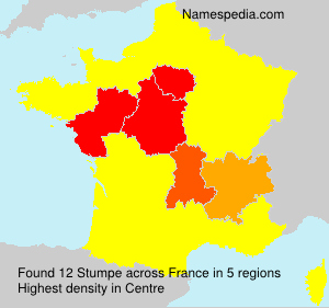 Surname Stumpe in France