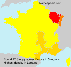 Surname Stuppy in France