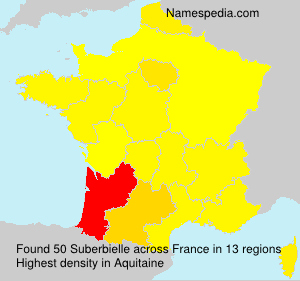 Surname Suberbielle in France