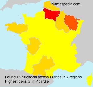 Surname Suchocki in France