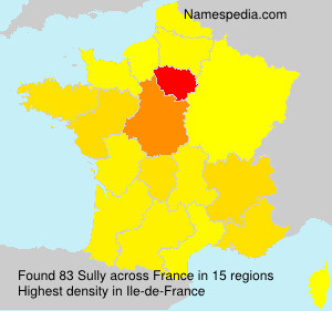 Surname Sully in France