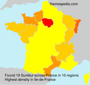 Surname Sumbul in France