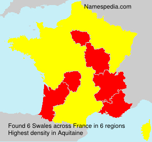 Familiennamen Swales - France