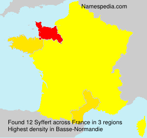 Surname Syffert in France