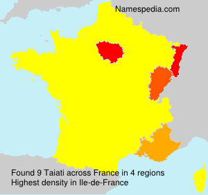 Surname Taiati in France