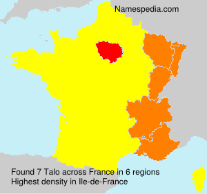 Surname Talo in France
