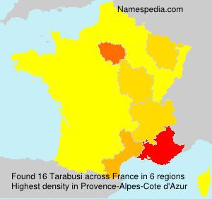 Surname Tarabusi in France
