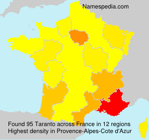 Surname Taranto in France