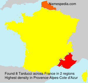 Surname Tarducci in France