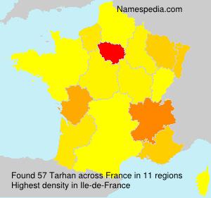 Familiennamen Tarhan - France