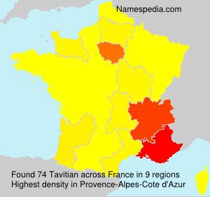 Surname Tavitian in France