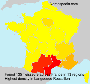 Surname Teisseyre in France