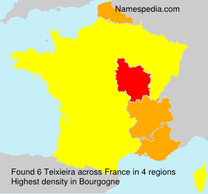 Surname Teixieira in France